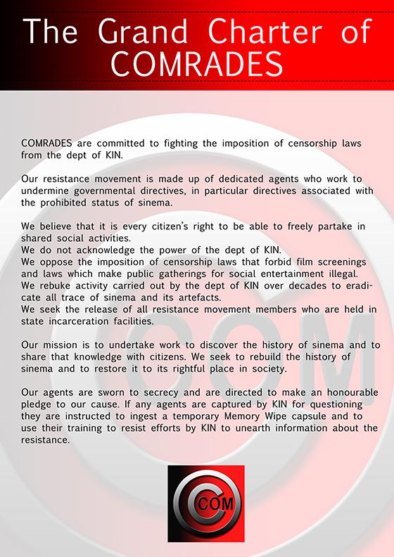 Comrades Charter